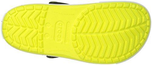 Noir Color Burst Vert Clog Crocband Ocean Sabots Balle Crocs de Tennis qwxEt4vR