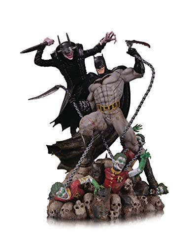 DC Collectibles The Batman Who Laughs Vs. Batman Battle Statue