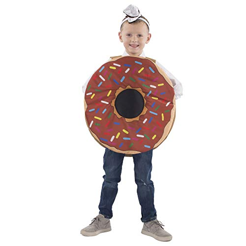 Dress Up America Sprinkle Doughnut Costume for Kids (T4/S) ()