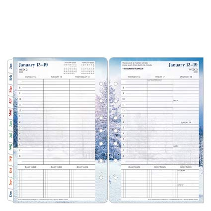 Classic Seasons Weekly Ring-Bound Planner - Jan 2020 - Dec 2020 by Franklin Covey