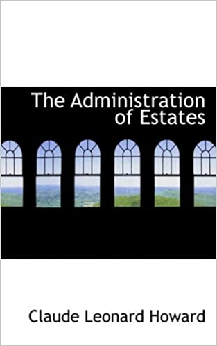 Book The Administration of Estates