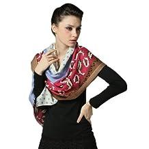 Women 100% Australian Merino Wool Scarf Fashion Warm