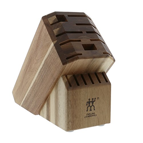 ZWILLING Pro 16-slot Knife Block - Acacia by ZWILLING J.A. Henckels (Image #1)