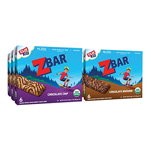 - CLIF KID ZBAR - Organic Energy bar - Value Pack - (1.27 oz Snack bar, 36Count) (Packaging May Vary)