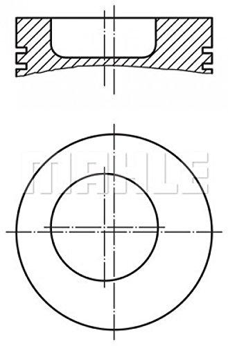 Pistone Mahle originale BULLONE-Ø 010 04 00 mm