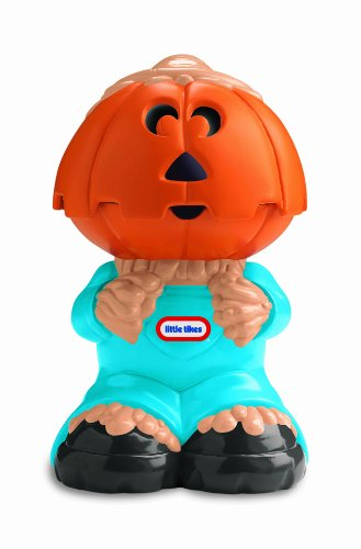 Little Tikes Scream Beams Flashlight - Scarecrow (Halloween Candy Opened)