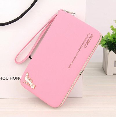 detailed look 3a34a 315d0 Generic Women's Leather Pink Phone Case Bag: Amazon.in: Garden ...