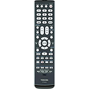 Original Toshiba CT-90302 LCD TV Remote Control, P/N 75010932 (Substitute for CT-90275)