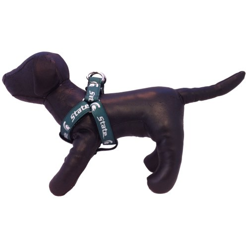 All Star Dogs NCAA Michigan State Spartans Dog Harness, Medium