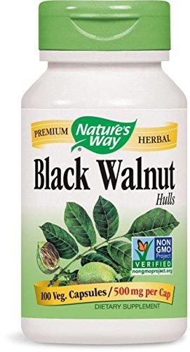 Nature's Way Black Walnut Hulls, 100 Capsules (Pack of 2)