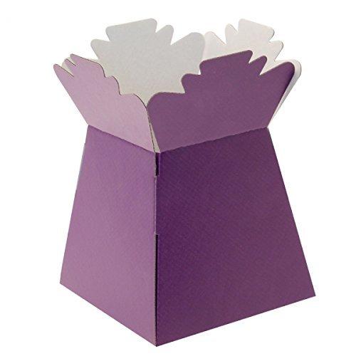 Purple Living Vase Flower Box Flower Bouquet Transporter, Sweet Tree Box apac