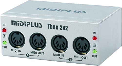 midiplus Tbox2X2 USB MIDI Interfaces (Audio Interfaces Usb)