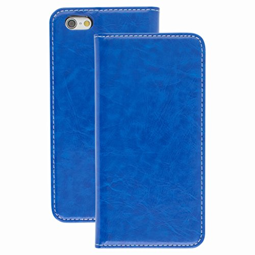 Good Style Apple iphone 6 Case cover, Apple iPhone 6 Blue Designer Style Wallet Case Cover