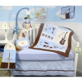 SOHO Baby Rock n' Roll Band Nursery Bedding Set 6 pcs with Diaper Bag set(FREE LIGHTWEIGHT BABY CARRIER!!!)