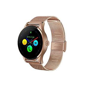 ZGYYDY Monitor de Ritmo cardíaco Respuesta de Smartwatch Dial Call ...