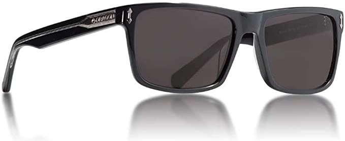 Dragon Alliance Adult Blindside Sunglasses Shiny Black Smoke