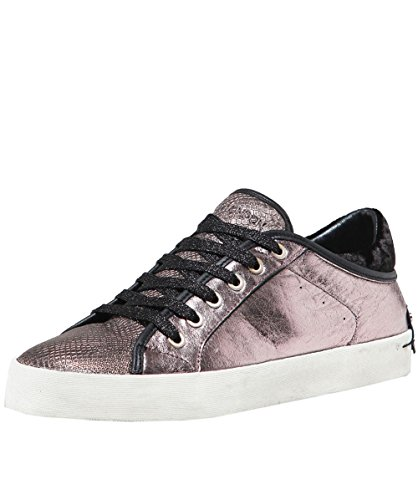 London Chaussures Fortmateur Pewter Faith Femme Baskets Crime Métallique dUq1wd
