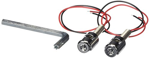 Kuryakyn 9199 LED License Plate Bolt Auxiliary Light (License Mounting Plate Kuryakyn)