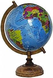 "13"" Decorative Globe Big Rotating Geography Desktop Table Décor Ocean World"