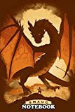 Notebook: Smaug , Journal for Writing, College Ruled Size 6' x 9', 110 Pages