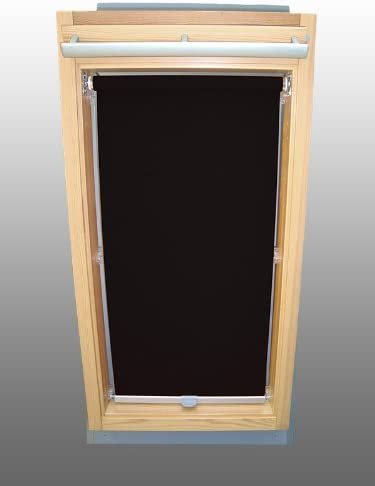 Sichtschutzrollo Rollo Dachfensterrollo für Velux VL//VF//VT weiß
