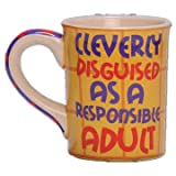 Tumbleweed Pottery 'Cleverly Disguised as a Responsible Adult' Coffee Mug