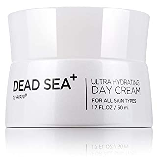 Dead Sea+ by AVANI Ultra Hydrating Day Cream | Provides Instant & Long-lasting Moisture | Dead Sea Minerals, Natural Essential Oils, And Vitamins | Anti-Aging, Collagen And Hyaluronic Acid - 1.7 fl oz