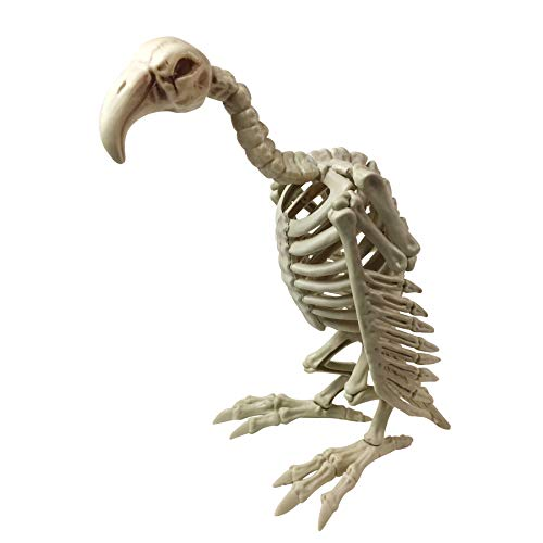 Vulture Buzzard Skeleton Halloween Decoration
