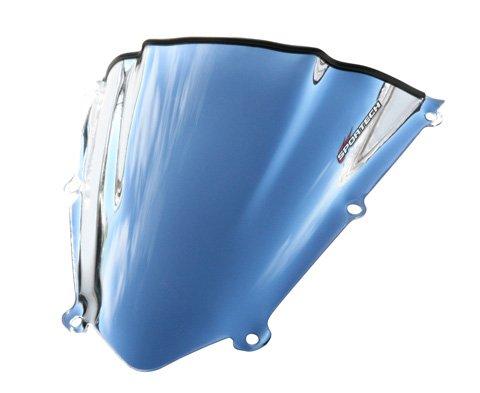 (2009-2011 Kawasaki Zx6R Sportech V-Flow W/S, Kaw Zx10R'08- '10, Chrome, Zx6R/Rr '09-')