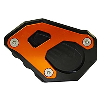 Type-3 waase Motorcycle Kickstand Foot Side Stand Extension Pad Support Plate For KTM 1050 1090 1190 1290 Adventure