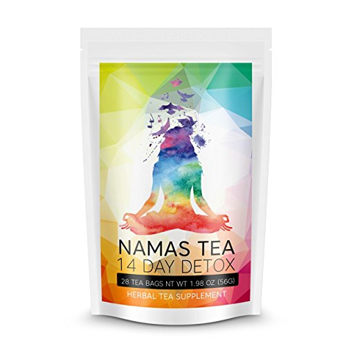Namaste Weight Loss Tea: Gentle Detox & Cleanse to Reduce Bloat. Suppress Appetite. Increase Energy. Individually Wrapped Tea Bags. (Juice It Up Fat Burner compare prices)