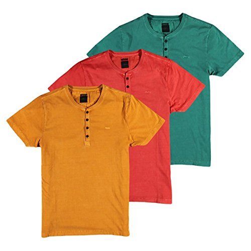 engbers Herren T-ShirtMy Favorite, 24823, Orange