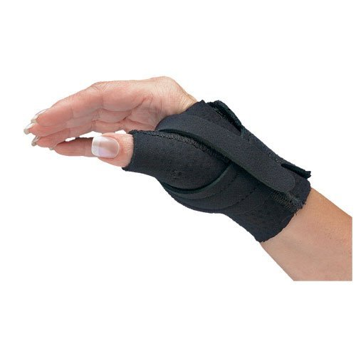 North Coast Medical NC79566 Comfort-Cool Thumb CMC Restriction Splint Left, Large by North Coast Medical by North Coast Medical