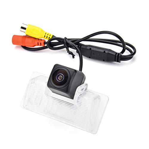 aSATAH Fisheye Lens Car Rear View Camera for Nissan Altima/Latio/Tiida Sedan/Maxima/Teana &Vehicle Camera Waterproof and Shockproof Reversing Backup Camera (Fisheye Lens) (Nissan Altima Back Up Camera)