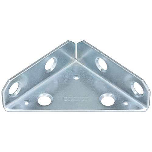 National Hardware N337-709 124BC Corner Brace Zinc plated, (Inside Corner Bracket)
