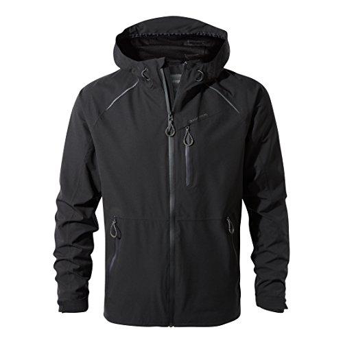 Craghoppers Men's Nat Geo Robens Stretch Jacket, Black, X-Large from Craghoppers
