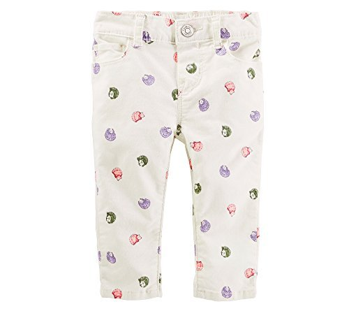 OshKosh B'Gosh Baby Girls' Hedgehog Pants 3 Months