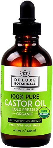 100-Pure-Organic-Castor-Oil-4-oz-Unrefined-Cold-Pressed-Hexane-Free-Best-for-Hair-Growth-Eyelashes-Acne-Moisturizer-Natural-Skin-Care-Treatment
