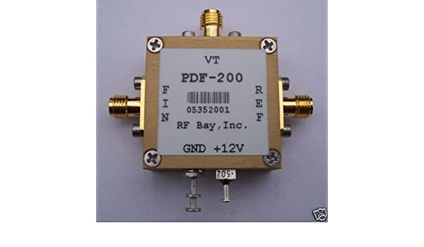 Phase/Frequency Detector w/Loop Filter PDF-200, New, SMA: Amazon.com: Industrial & Scientific