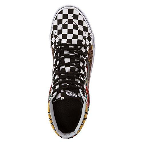 Hombre de zapatillas Vans SK8HI Reissue Sneakers (late night) burger/check