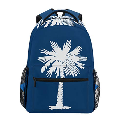 SUABO Laptop Backpack, South Carolina Computer Bag Book Bag Travel Hiking Camping Daypack