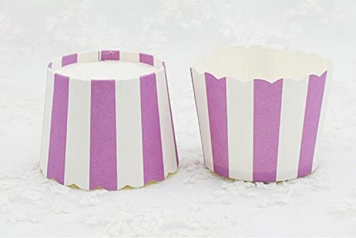 SANDIN 100pcs Muffin Cupcake Wrapper Paper Cases Liners Cups