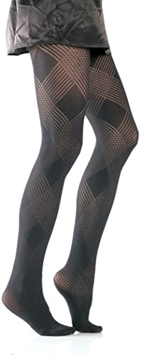 Foot Traffic - Diamond Weave Tight, Black -