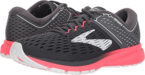 Brooks Women's Ravenna 9 Ebony/Diva Pink/White 9.5 B US
