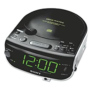 sony icf cd815 am fm stereo cd clock radio with dual alarm discontinued by. Black Bedroom Furniture Sets. Home Design Ideas