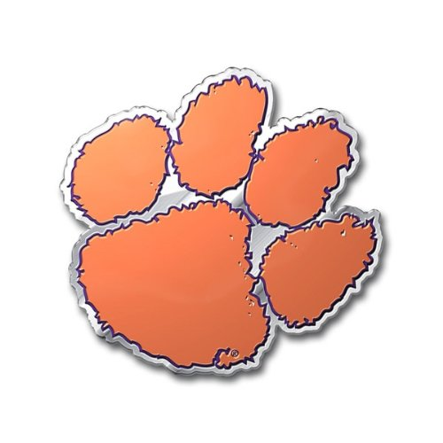 Team ProMark NCAA Clemson Tigers Die Cut Color Auto Emblem -