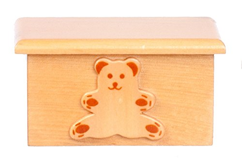 Dollhouse Miniature 1:12 Scale Small Bear Toy Box T6465 from Melody