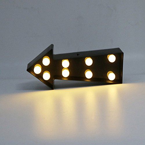 Modern Design Arrow Indicator Lights Night Lamp for Living Room Bedrom Corridor Stairs Home Decoration Party Holiday Decor Unique Night Lights by Alrens