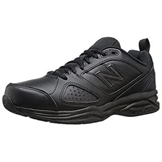 New Balance womens 623 V3 Casual Comfort Cross Trainer, Black, 8.5 Wide US