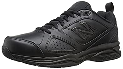 New Balance Women's WX623V3 Training Shoe, Black, 6 2E US